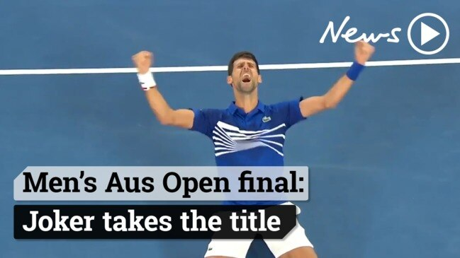 Djokovic claims historic win over Nadal in the Men's Australian Open 2019 grand final.