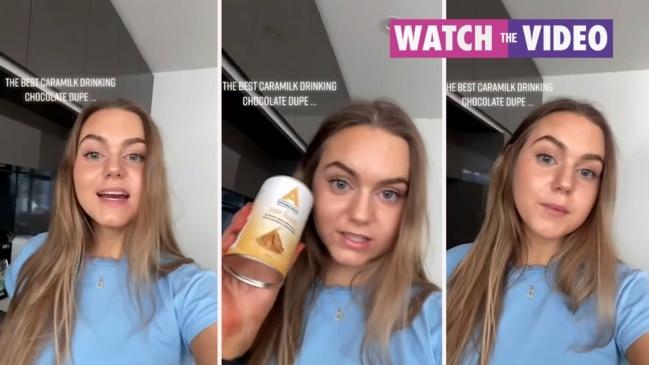 Caramilk drink dupe goes viral