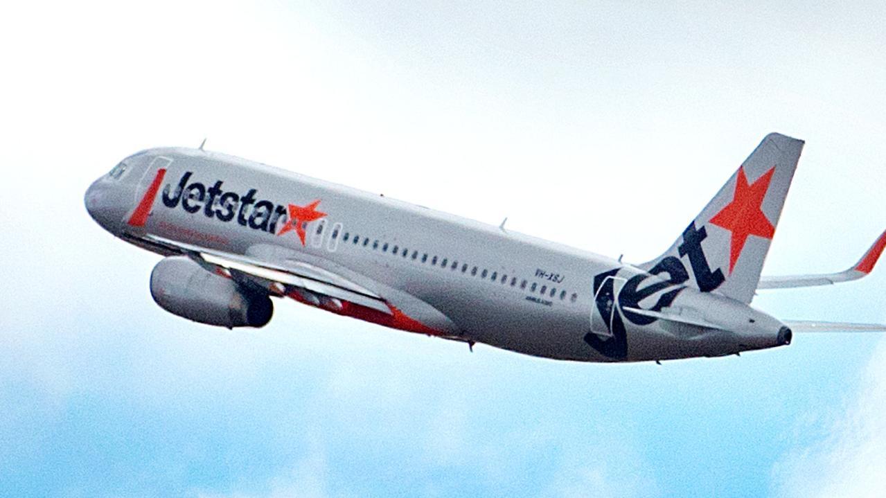 MELBOURNE, AUSTRALIA- NewsWire Photos APRIL 15 2021:  Jetstar flight takes off from Melbourne Airport.  NCA NewsWire / Sarah Matray