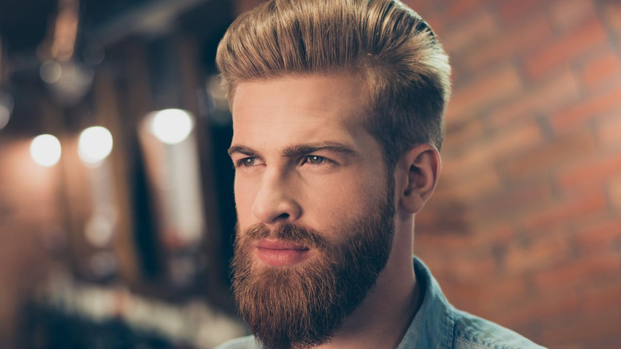What's he hiding under that luscious beard?! We may never know. Picture: iStock, posed by model.