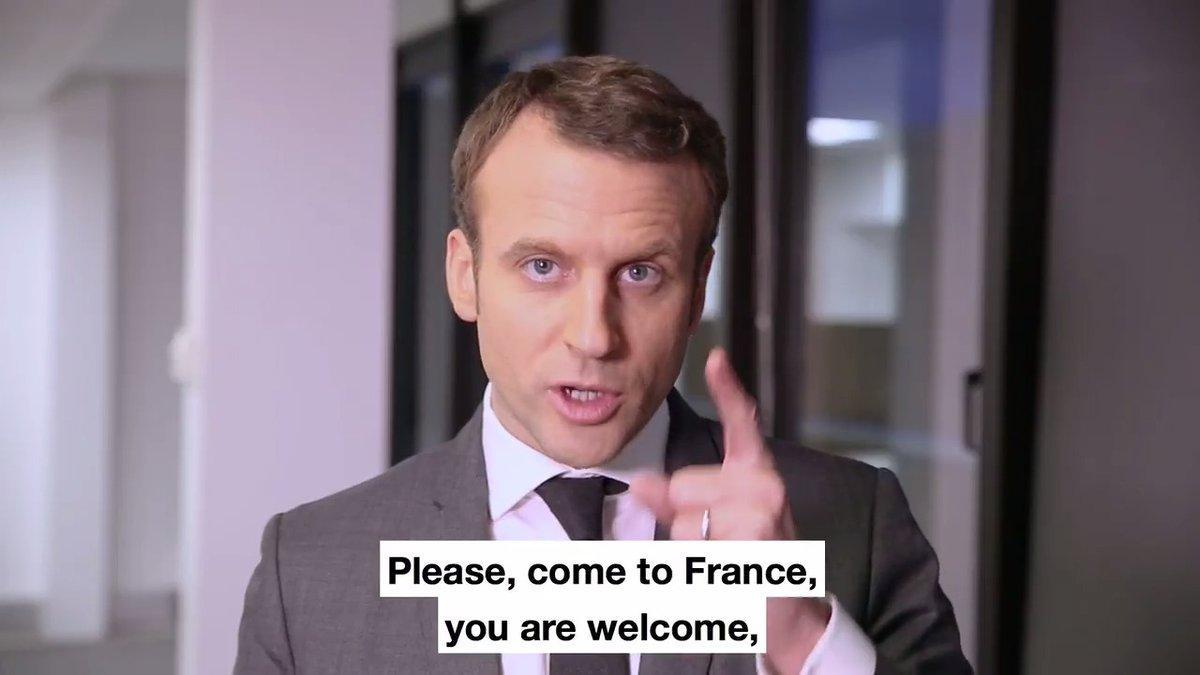 FRANCE: Macron Offers Open Door to Scientists, Entrepreneurs Alienated by Trump February 09