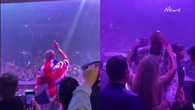 Inside Tyson Fury's insane Vegas after party
