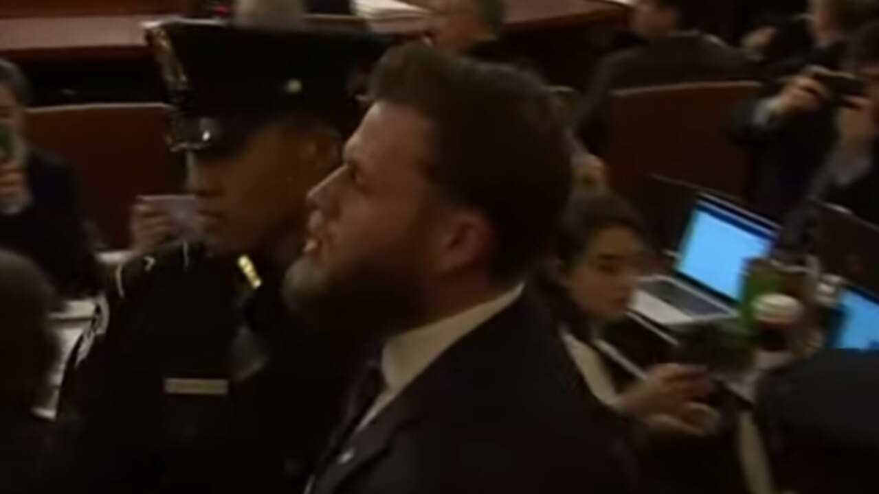 Infowars Host's Outburst Interrupts Impeachment Hearing in DC
