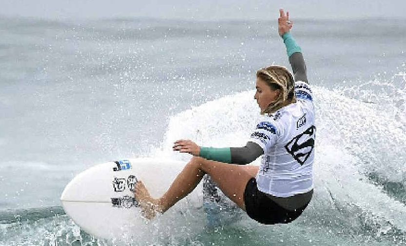 Dimity Stoyle has enjoyed a breakout year, earning a world tour berth for 2014. Picture: ASPSHADLEY