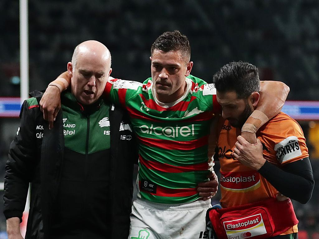 Braidon Burns has been named to play his first NRL game in 2021 against Melbourne on Thursday following a horror run of injuries. Photo: Mark Metcalfe/Getty Images.