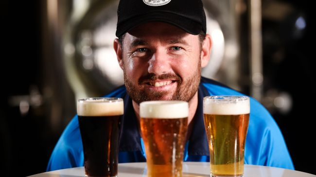 Beaver Brewery owner Chris Brown will enjoy a 100 per cent excise tax rebate up to $350,000. Picture: Keri Megelus