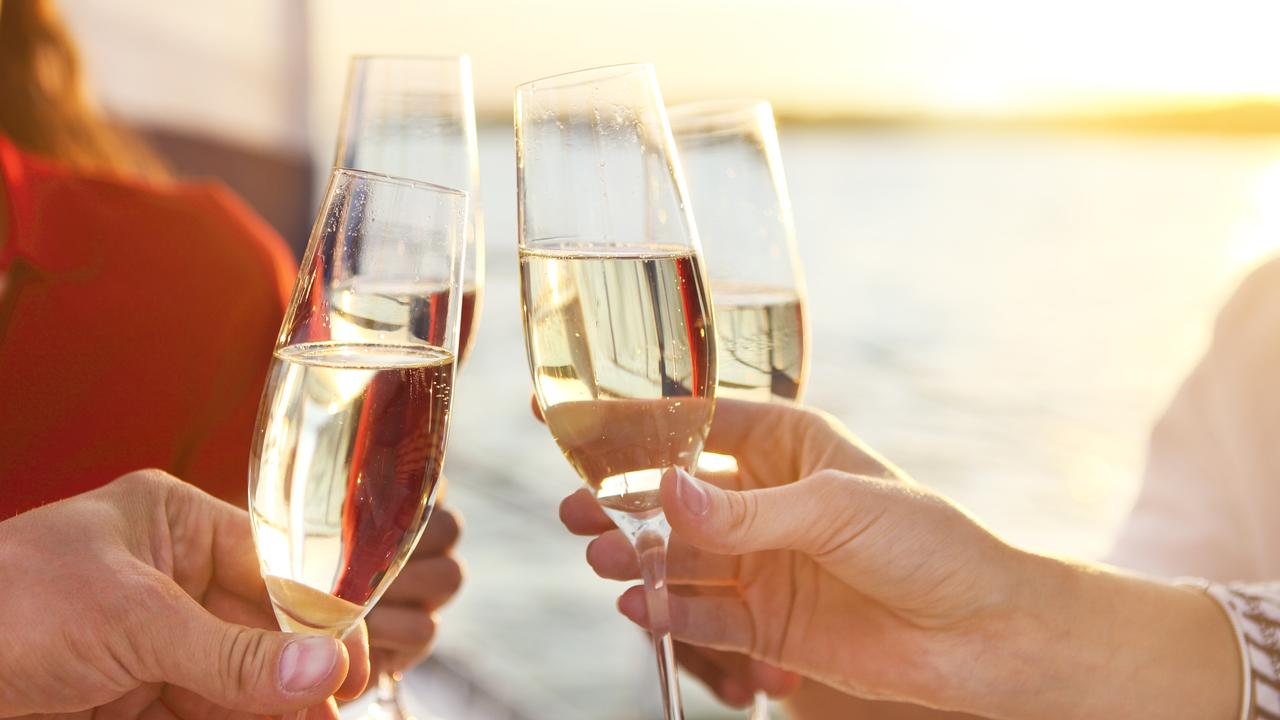 Agents have also been dishing out free champagne for buyers who offer the first bid at auction.