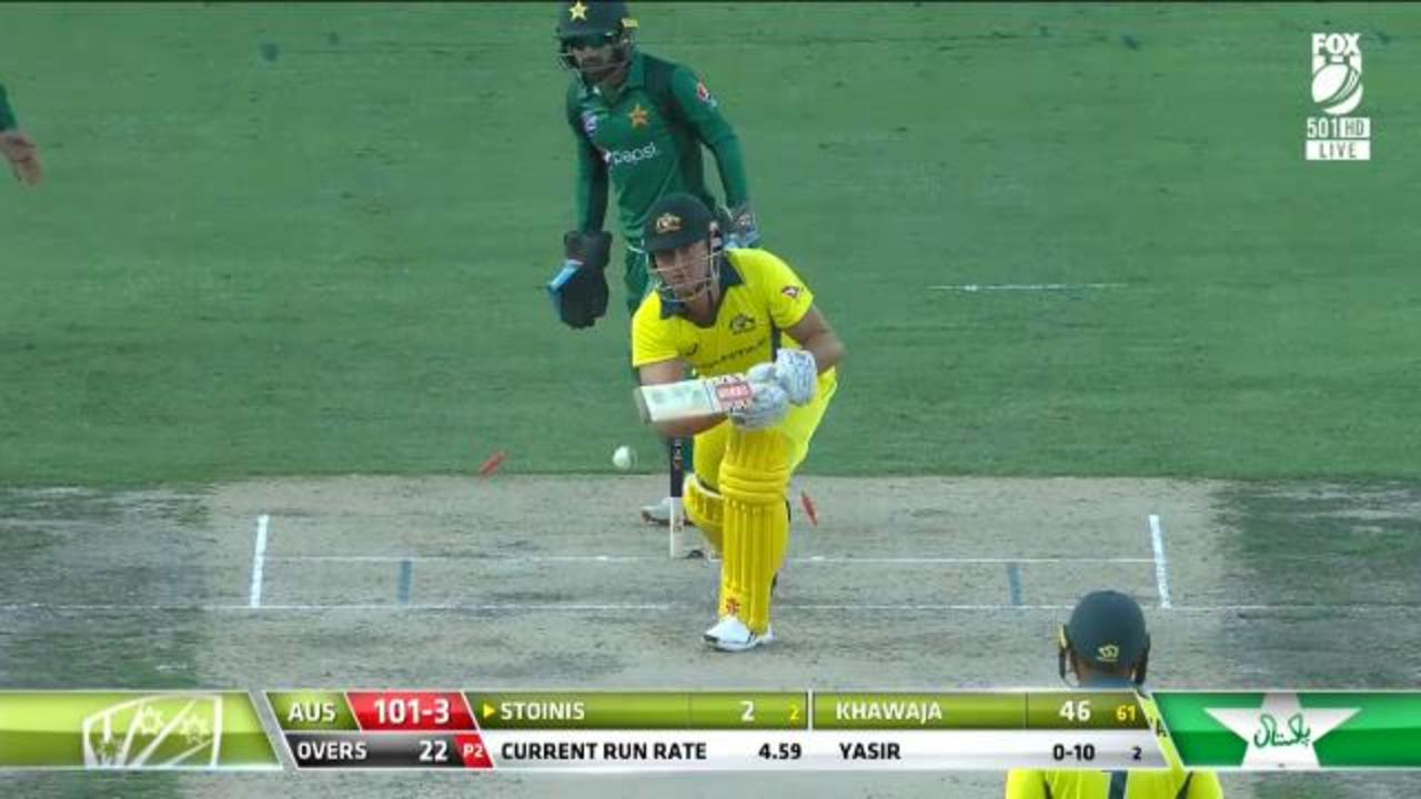 Stoinis fooled by Yasir
