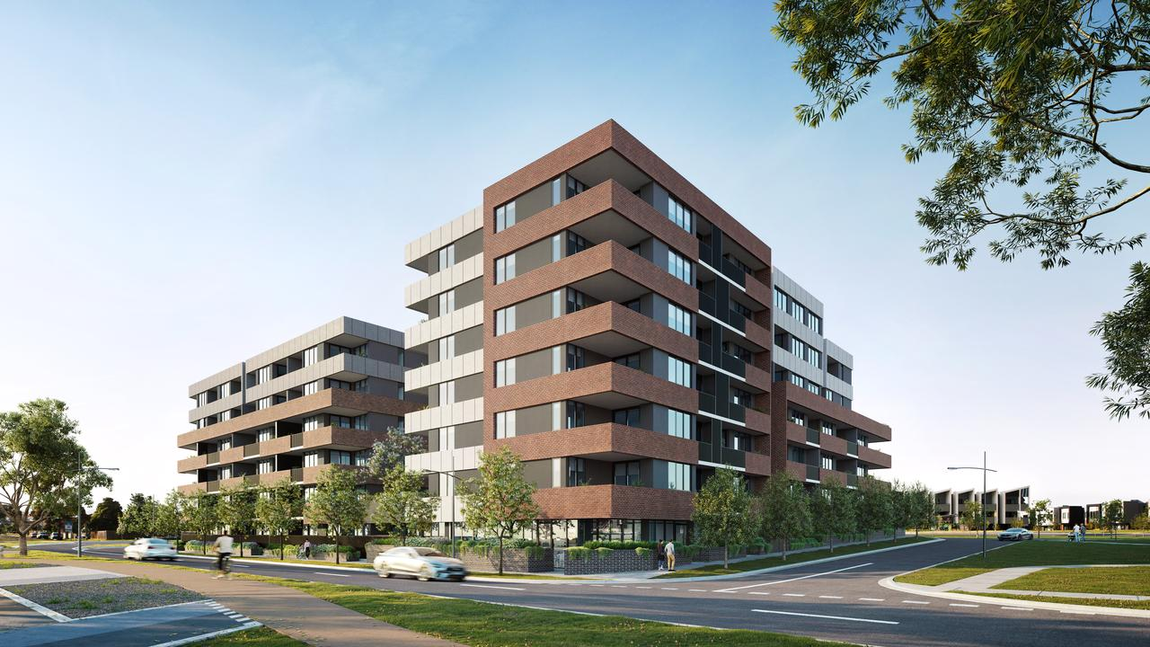 The apartments are being built in Clayton South.
