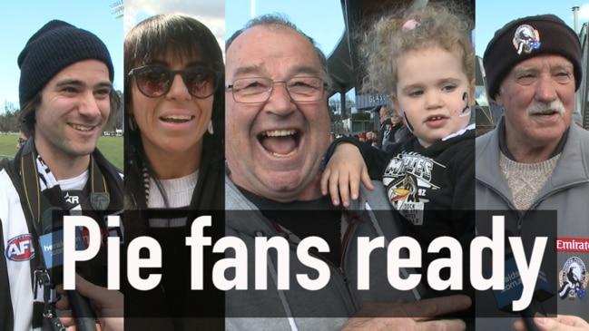 Are Collingwood fans nervous?