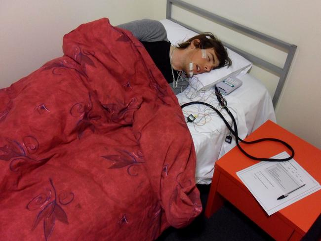 Athletes took part in a five-night sleeping camp in Canberra ahead of Rio.