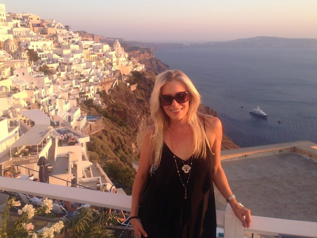 As a travel addict, she's found it hard to find that 'one'. Image: Supplied