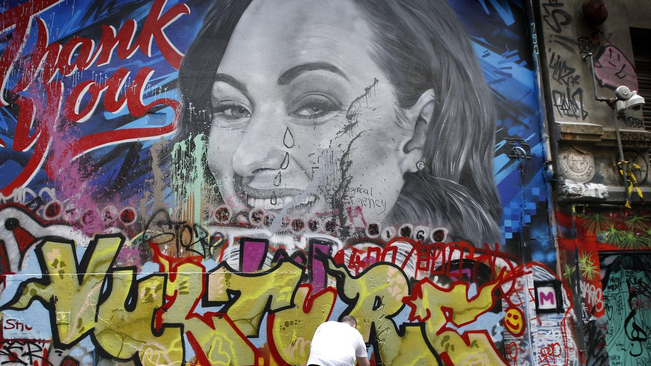 Hosier Lane paint vandals