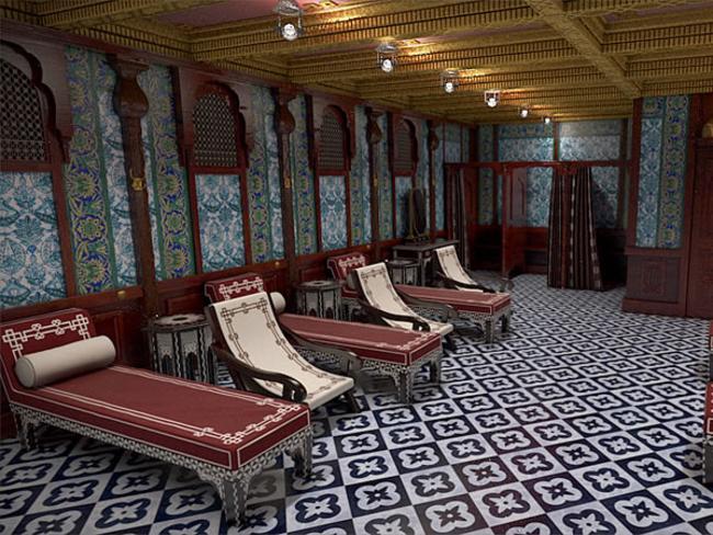 Turkish baths on Titanic II. Picture: Bluestarline.com.au