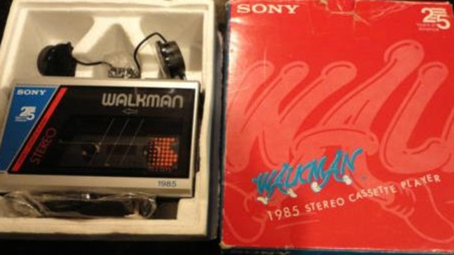 Who would have thought a Walkman would be worth $2700?