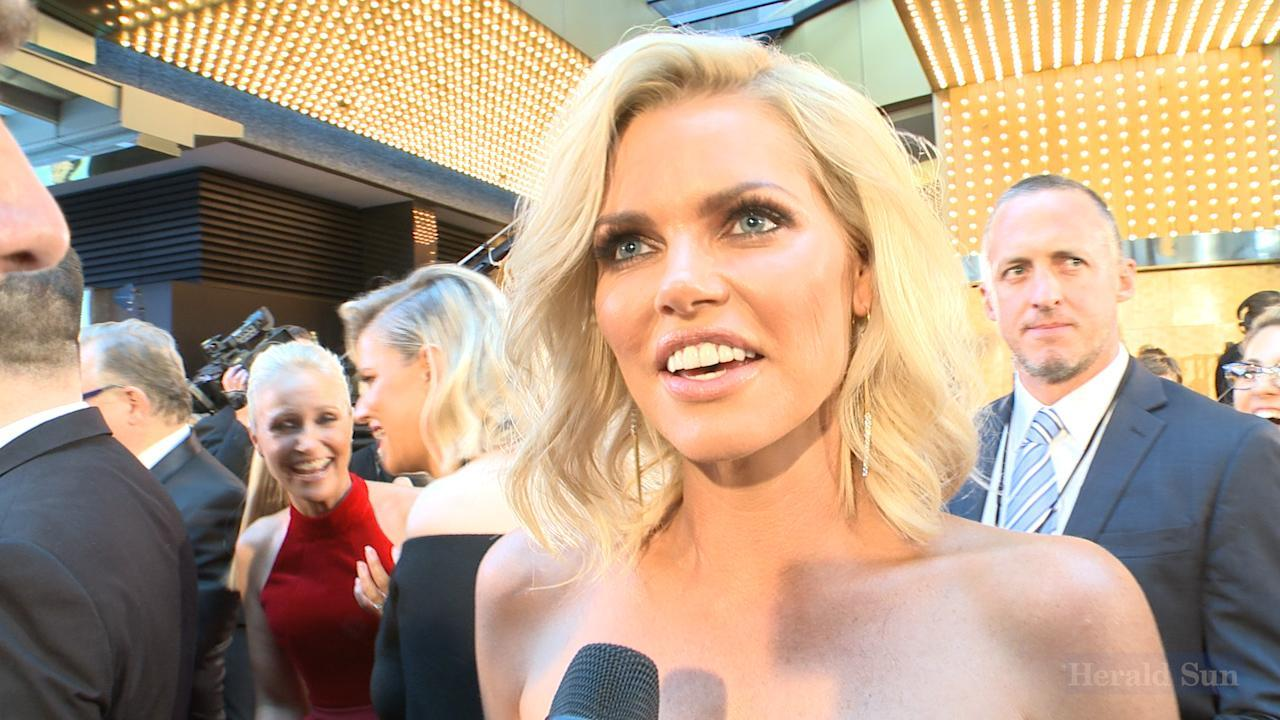 Bachelorette Sophie Monk on the Logies red carpet