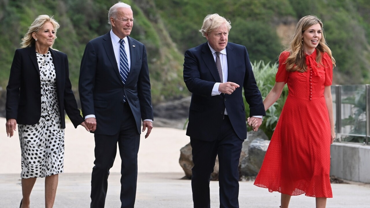 UK trip is Biden's first 'big test' abroad