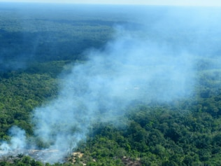 The terrifying reason The Amazon Rainforest is one fire. Image: Getty