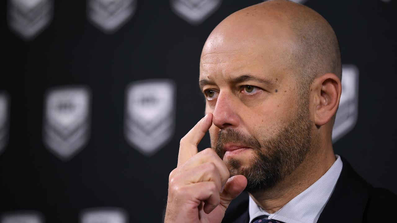 NRL CEO Todd Greenberg has boxed himself into a corner.
