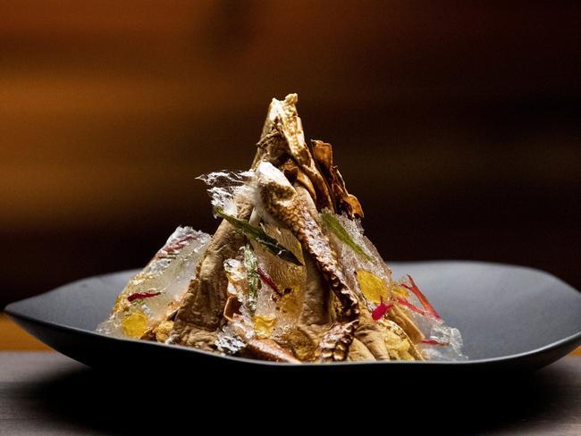 """MasterChef — Kylie Millar's """"The Nest"""" dish. Picture: Supplied"""
