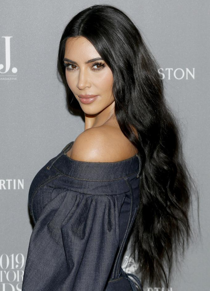 Kim Kardashian Wests New Years Resolutions Include Dressing Less