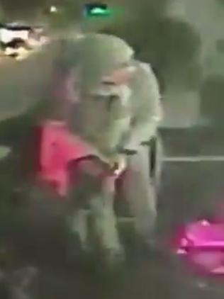 The alleged gunman is seen walking around the nightclub. Picture: Twitter