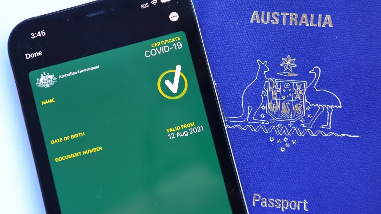 International travel vaccine passports ready as early as October