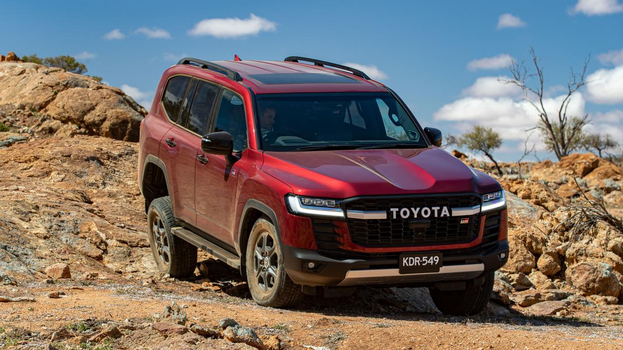 Toyota has a new off-road focused LandCruiser 300 Series GR Sport.