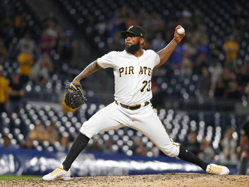 Felipe Vazquez on the mound. Picture: Justin K. Aller/Getty Images/AFP