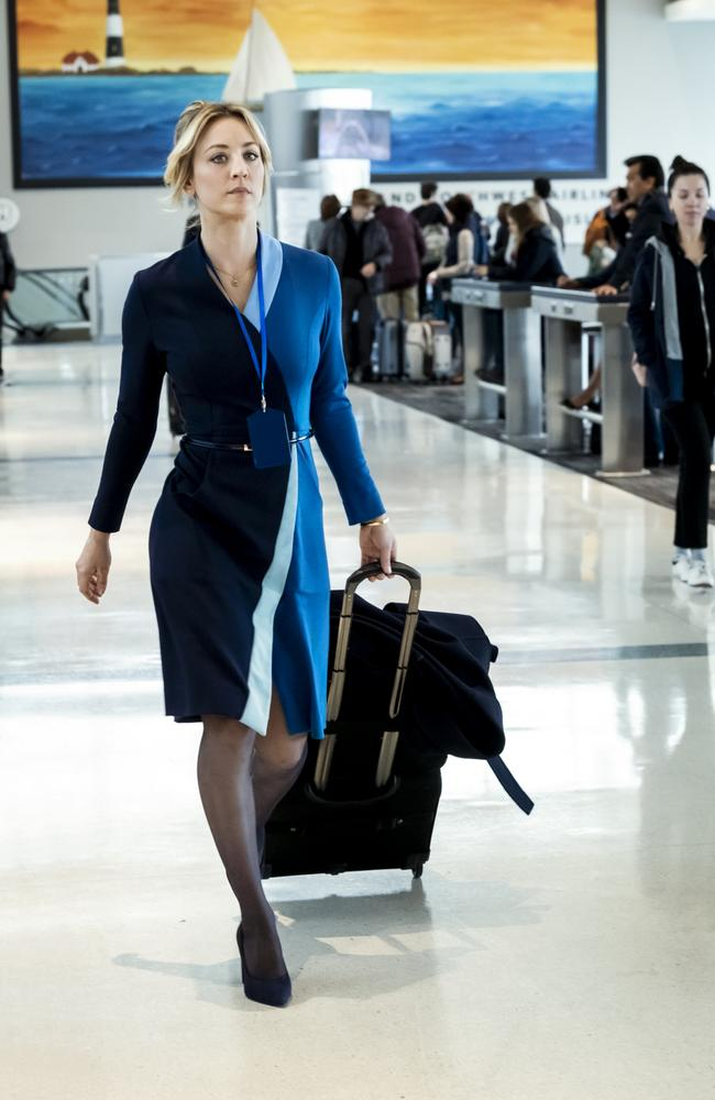 The Flight Attendant hits streaming on BINGE tonight. Picture: Supplied/HBO