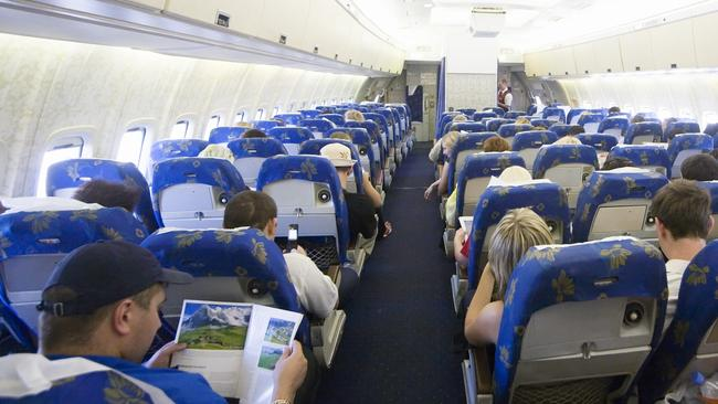 A new sub-economy class is coming to major US airlines, and while it will make air travel a lot more affordable, it will be a brutally no-frills experience. Picture: Getty Images