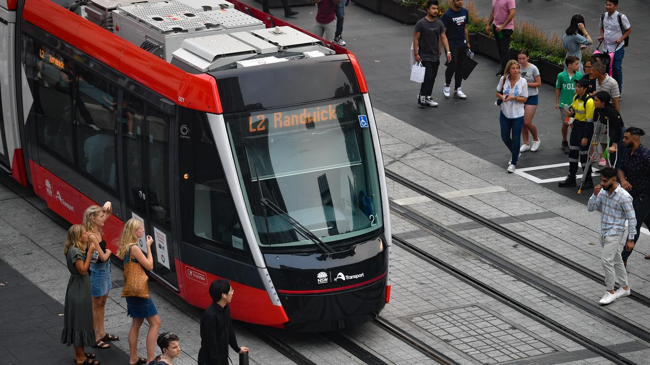 NSW Labor claims the new Sydney light rail is the slowest tram service in the world. Picture: Paul Braven/AAP