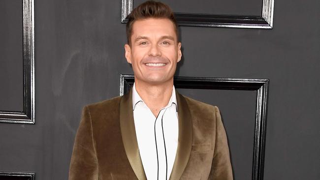 Ryan Seacrest attends The 59th GRAMMY Awards at STAPLES Center in LA. Picture: Frazer Harrison/Getty Images/AFP
