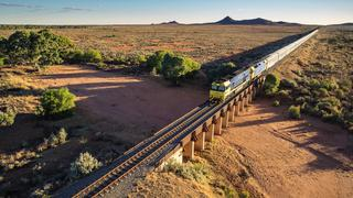 SUNDAY ESCAPE. INDIAN PACIFIC. SARAH NICHOLSON. Picture: Great Southern Rail