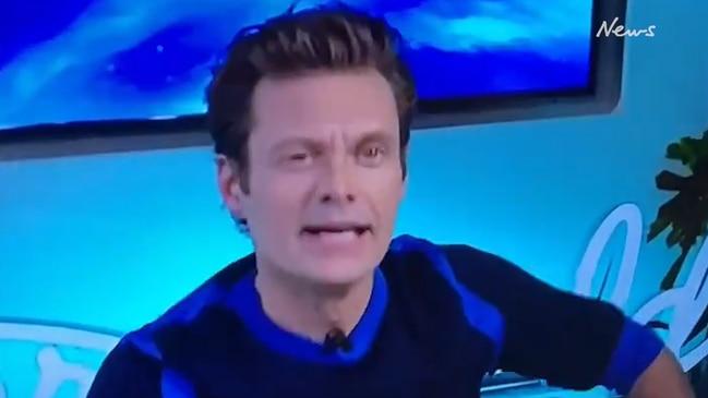 Ryan Seacrest's bizarre TV moment