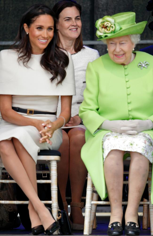 Kyle's comments about Meghan Markle and the Queen have caused global outrage. Picture: Max Mumby/Indigo/Getty