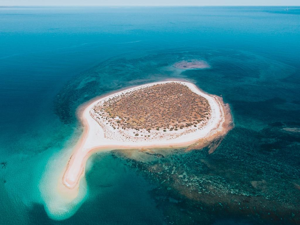 One of the magnificent Mackerel Islands. Picture: Tourism WA