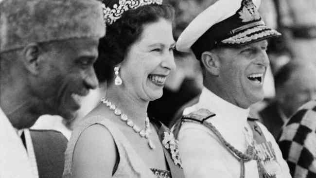 The Queen and Prince Philip in 1961. They've been together for a very long time.