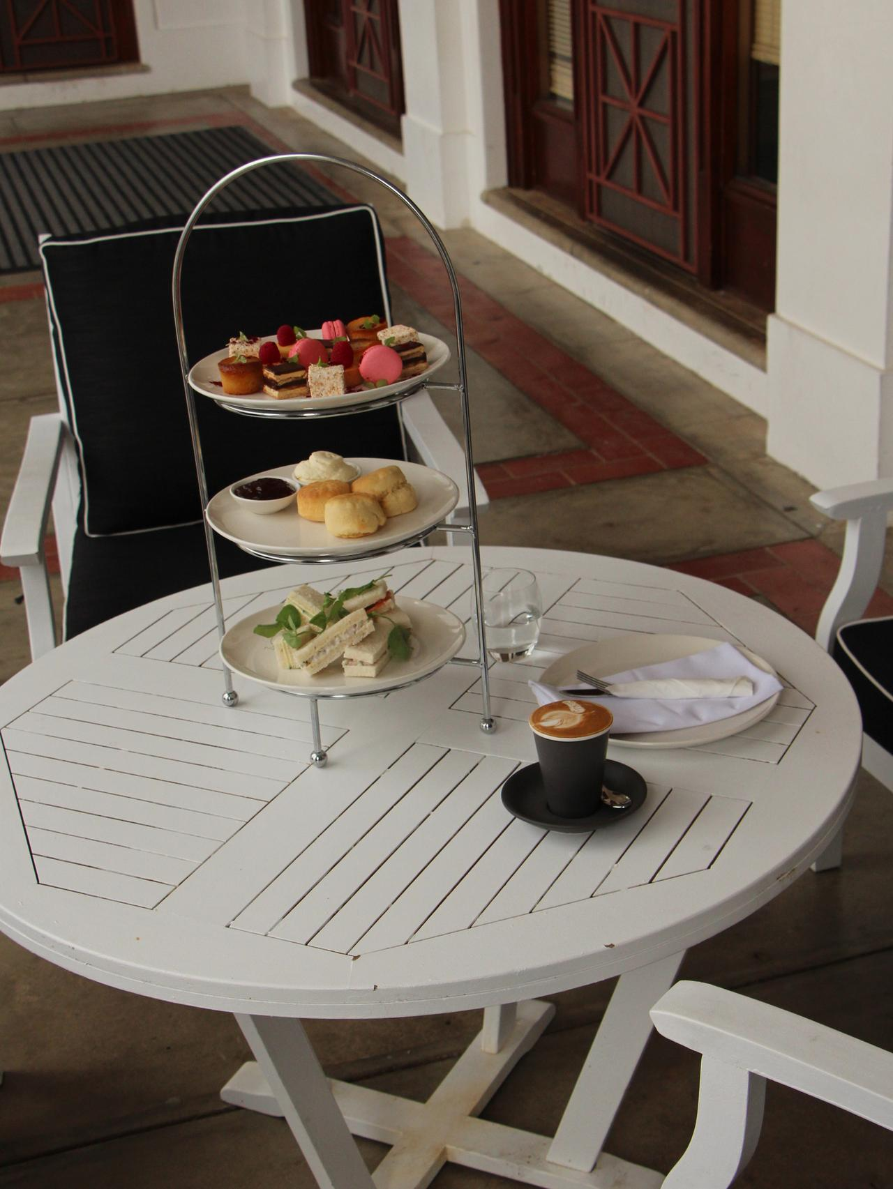 Supplied Travel Afternoon tea at Old Parliament House in Canberra. Pic Sarah Nicholson