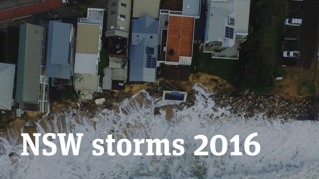 NSW storms 2016: Collaroy damage