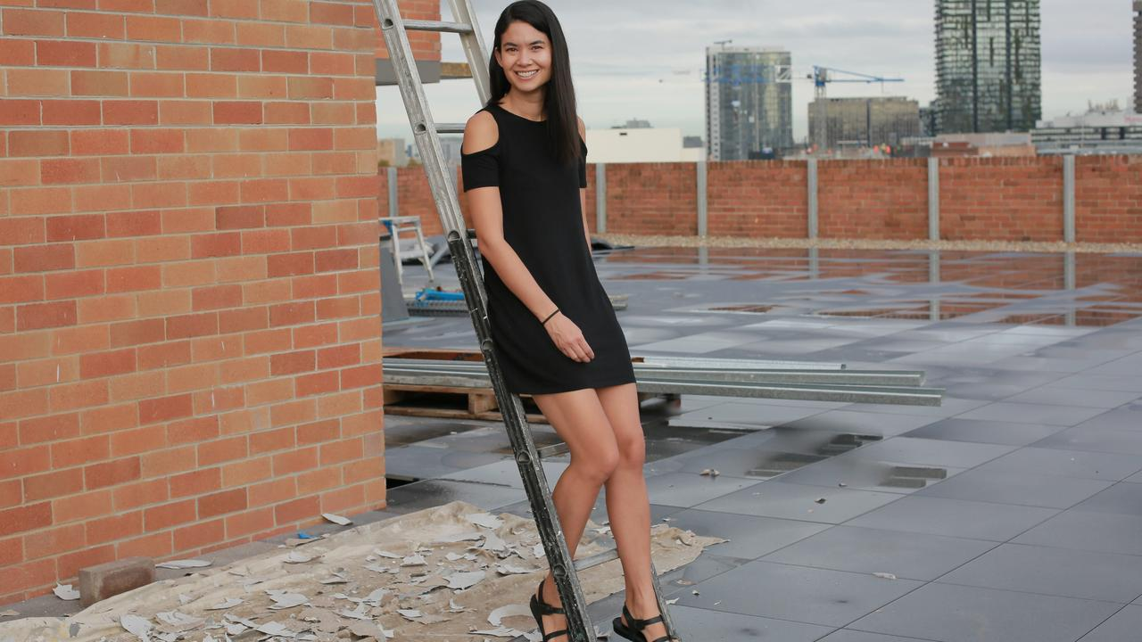 Melanie Perkins, the CEO of Canva, founded a company that is now worth $6 billion. Picture: News Corp