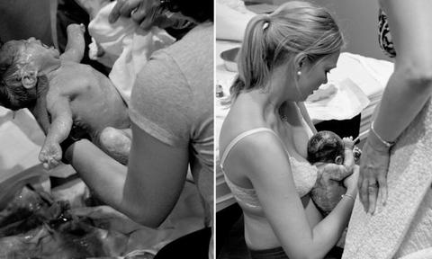 WELCOME TO THE WORLD, JULIE. The most precious moment a parent ever experiences.</p>