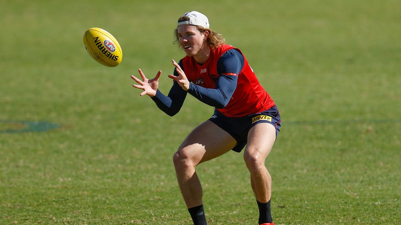 Only two of Hibberd, Bowey, Hunt and Smith are likely to feature on grand final day and Hunt (pictured) has played the most games this year of the four. Picture: Michael Willson / AFL Photos via Getty Images