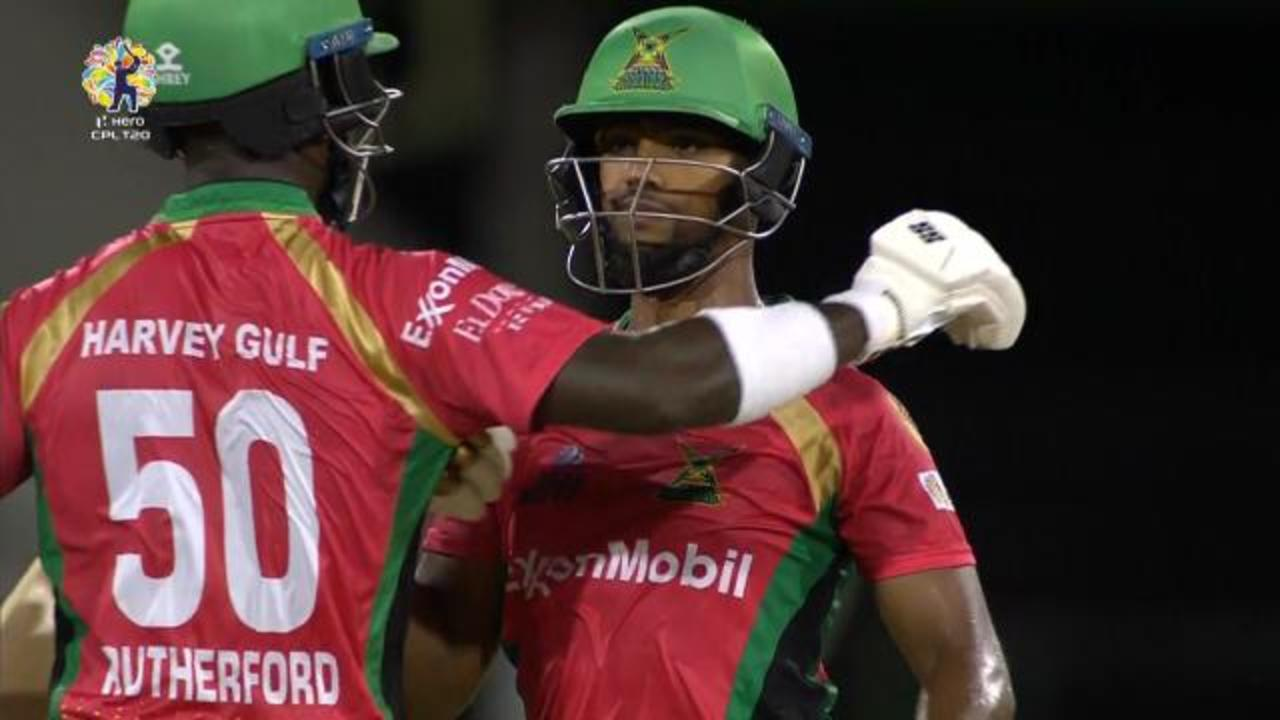 Guyana Bash Brothers smash 72 runs off 4 overs!