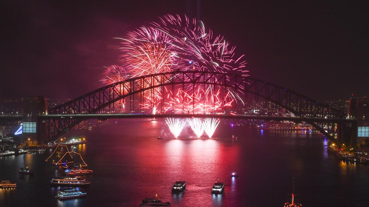 Social media users wondered whether people could stay away from Sydney Harbour's popular New Year's Eve fireworks. Picture: AAP Image for City of Sydney/Lukas Coch