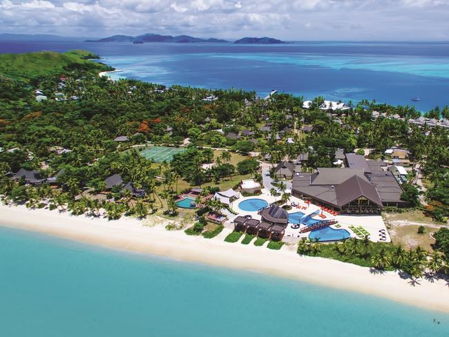 FIJI 6-DAY PACKAGE, $1399: Get in quick to snap up a five-night deal to Mana Island Resort & Spa in Fiji before May 18, 2019, and save 39 per cent when you pay from $1399 a person, twin share. The package includes upgraded accommodation in a Deluxe Oceanview Bure, all meals daily, resort credit, 30-minute couples massage, return coach and launch transfers and more. Offer valid for travel in select periods from July 1, 2019, to February 28, 2020. vivaholidays.com.au