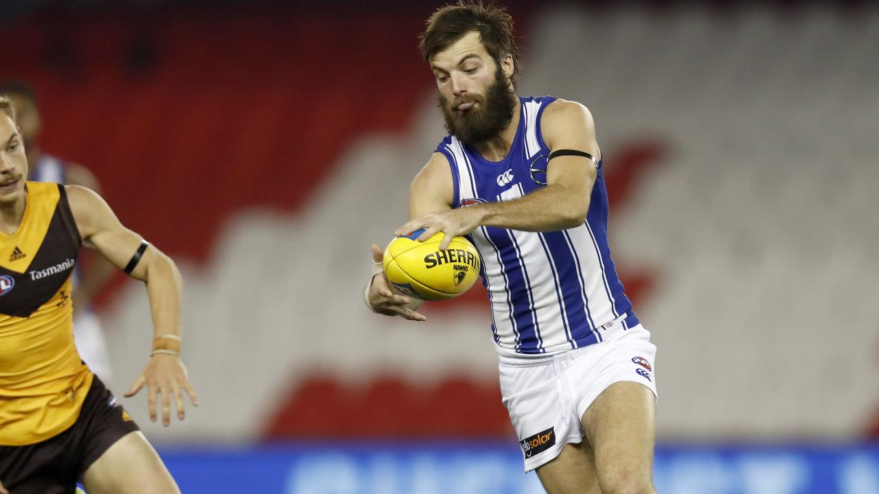 Jordan Lewis has questioned Luke McDonald's five-year deal. Photo: Darrian Traynor/Getty Images.