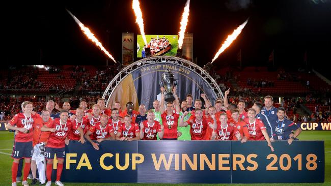 2018 FFA Cup Champions - Adelaide United