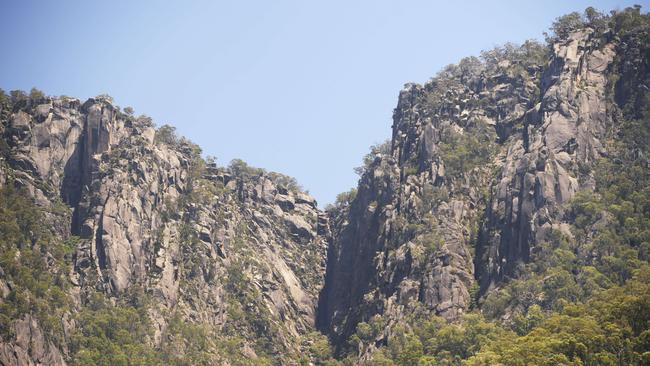 Paramedics are treating a patient badly injured after falling down a waterfall at Mt Buffalo. Generic picture