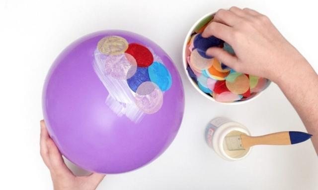 Kids craft ideas: How to make a confetti bowl | Video